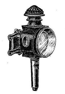 lanterna de bicicleta